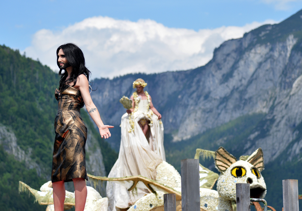 55. NARZISSENFEST IN BAD AUSSEE: CONCHITA WURST