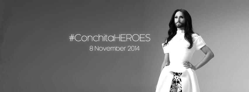 FOTO 1 Conchita Heroes
