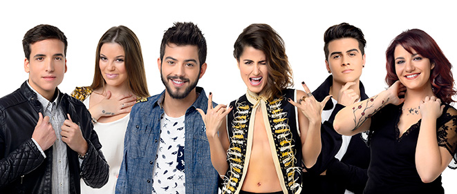 Candidatos Objetivo Eurovisión