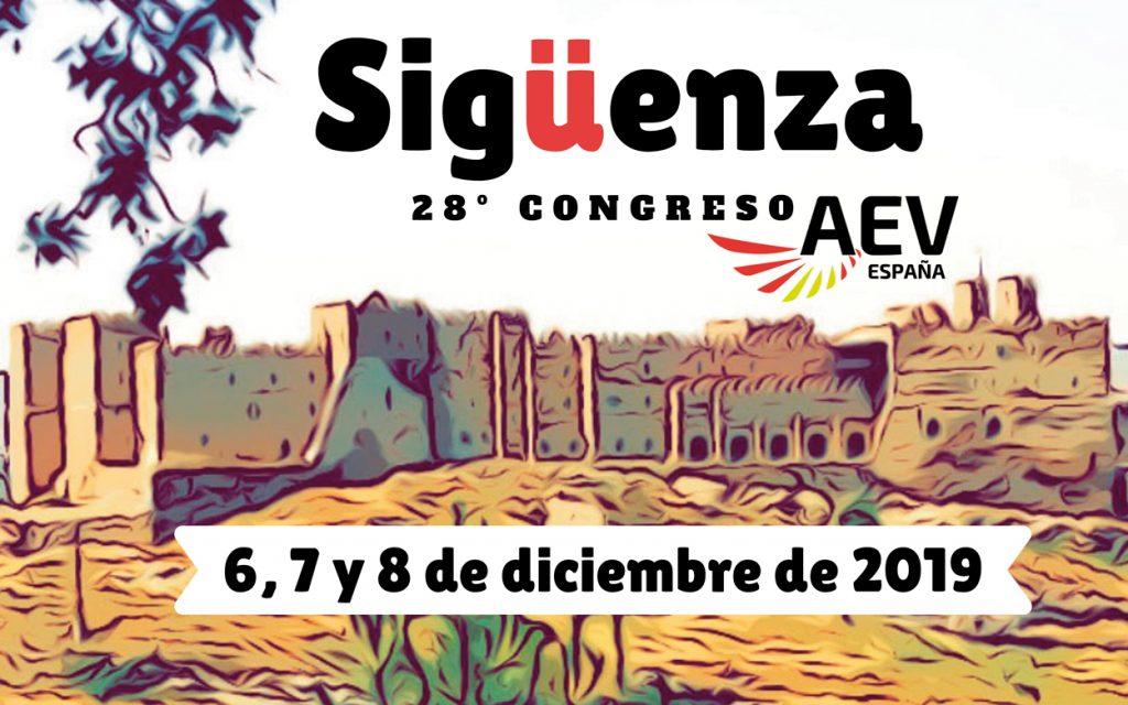 28 Congreso AEV Siguënza 2019